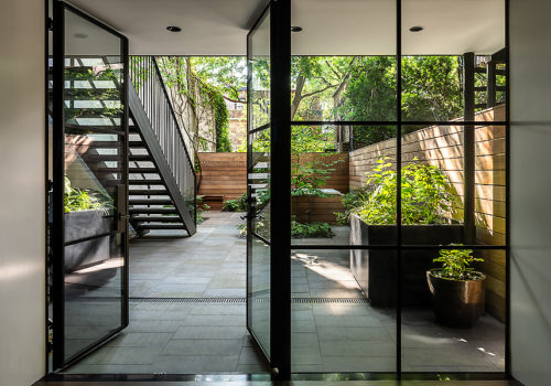 Neugestaltung der Außenanlagen eines Stadthauses in New York 02