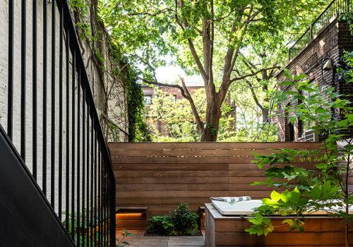 Neugestaltung der Außenanlagen eines Stadthauses in New York 03