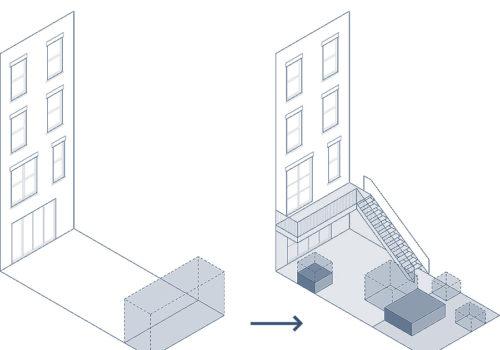 Neugestaltung der Außenanlagen eines Stadthauses in New York 09