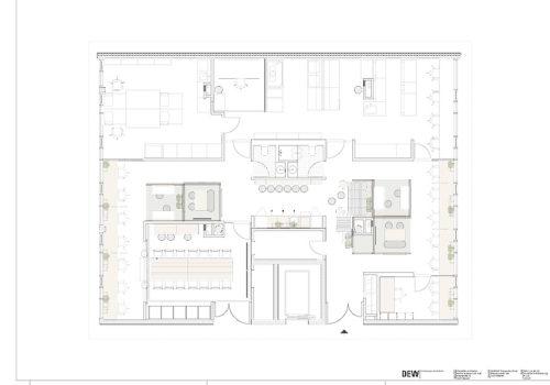 Neugestaltung der Büroräume für Dewpoint in Dresden 10