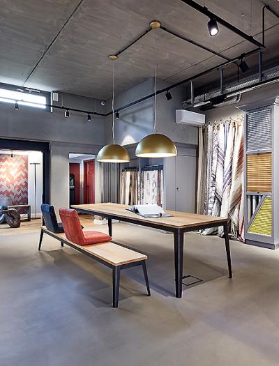 Ahle Showroom für Tapeten und Farben in Paderborn von Matern Architekt