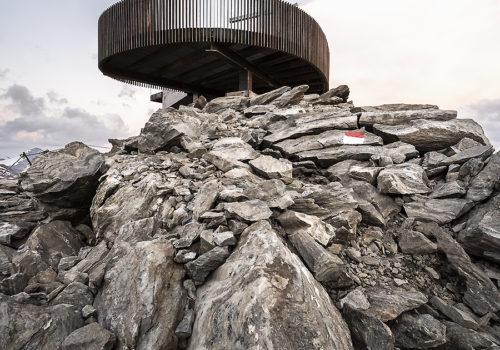 Aussichtsplattform am Schnaltalgletscher 02