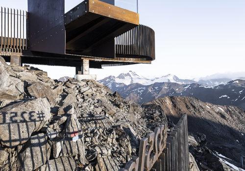 Aussichtsplattform am Schnaltalgletscher 03