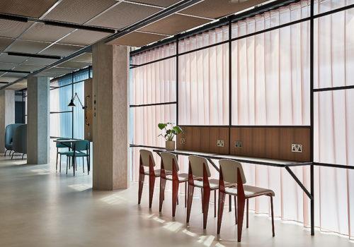 Büro in London 05