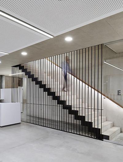 Verwaltungs- und Wohngebäude in Krefeld von blocher partners