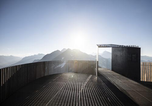 Aussichtsplattform am Schnaltalgletscher 06
