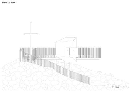 Aussichtsplattform am Schnaltalgletscher 11