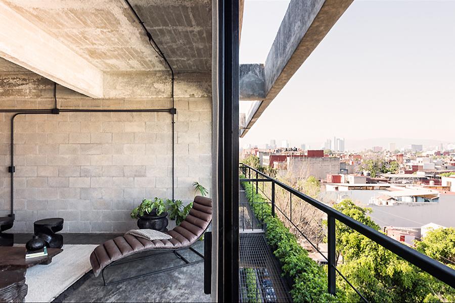 Wohnhaus Dr. Atl 285 in Mexiko-Stadt von BAAQ