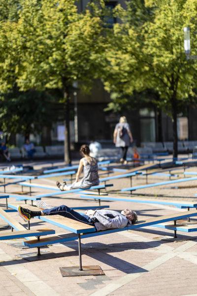 Temporäre Installation in Bochum 01