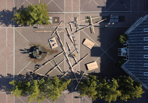 Temporäre Installation in Bochum 04