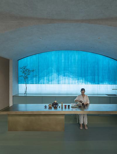 Aqua Health Clinic in Peking von Waterfrom Design
