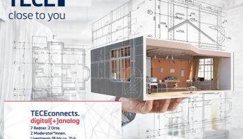 TECEconnects zum Thema digital[+]analog am 3. November 2020 von 18 bis 21 Uhr
