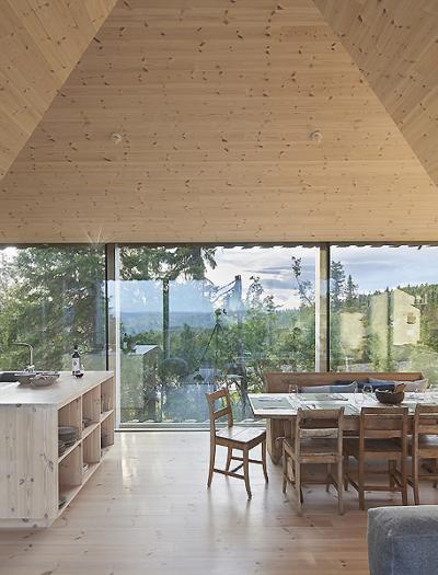 Berghütte Skigard Hytte Cabin in Norwegen von Mork-Ulnes