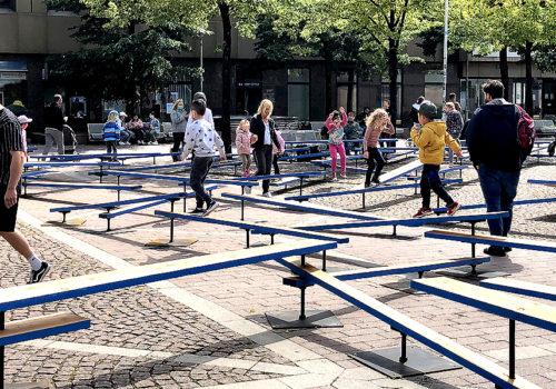 Temporäre Installation in Bochum 05