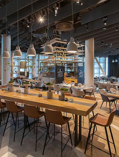 Mountain Hub Restaurant in München von Rawle Design und Gruschwitz