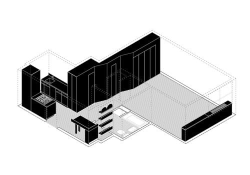 Apartment und Atelier in New York 12