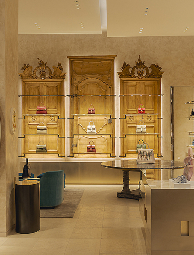 Delvaux Boutique in Paris von Vudafieri-Saverino Partners