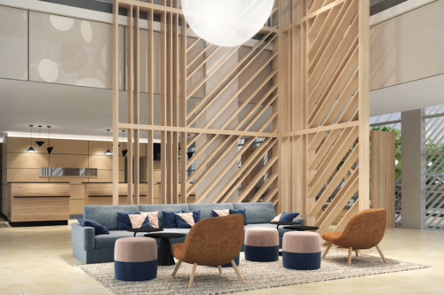 duka design, Courtyard by Marriott, Linz | © visualperformers