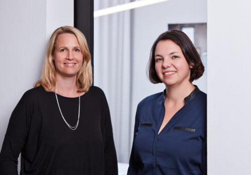 Anja Kalusche und Dagmar Duchow, Gründerinnen von duka design in München | © duka design