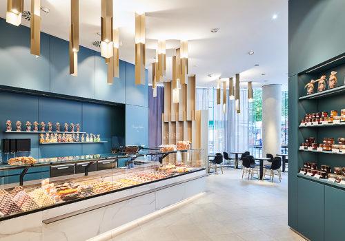 Umbau eines Department Stores im Breuninger in Nürnberg 01