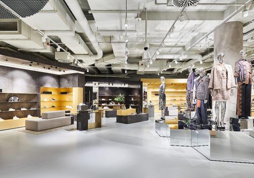 Umbau eines Department Stores im Breuninger in Nürnberg 04