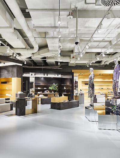 Breuninger-Kaufhaus in Nürnberg von blocher partners