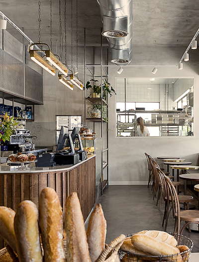 Bäckerei in Modi'in von Michal Rosenzweig
