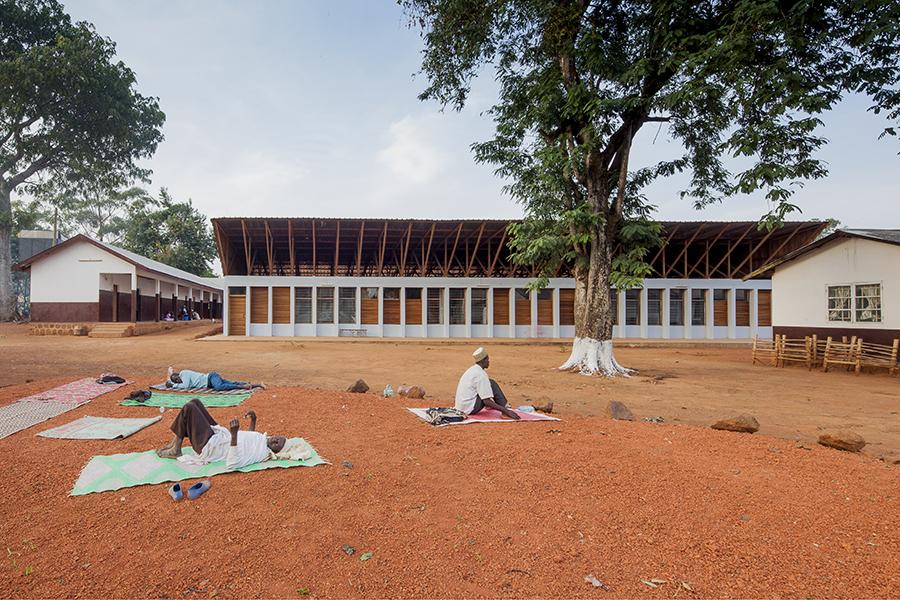 Krankenhaus in Ngaoubela