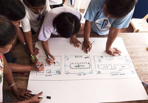 Entwurfsprozess im Workshop