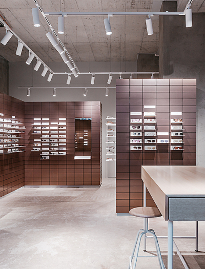 VIU Store in Genf von Fabrice Aeberhard