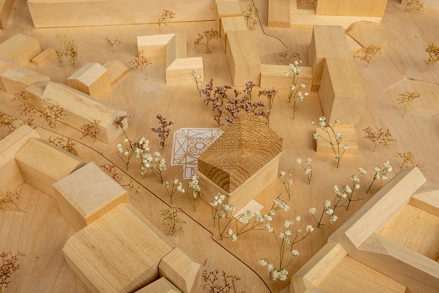 Entwürfe für eine neue Synagoge - Ausstellung im AIT-ArchitekturSalon Hamburg