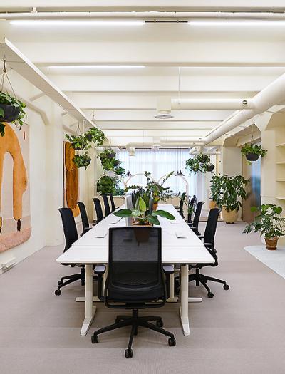 Büro in Amsterdam von Kvistad Family