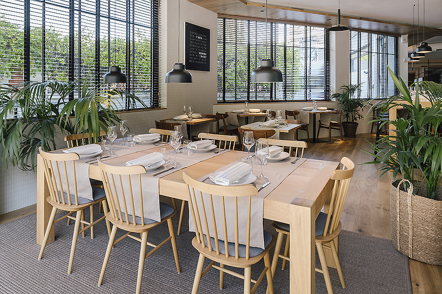 Restaurant in Madrid von Zooco Estudio