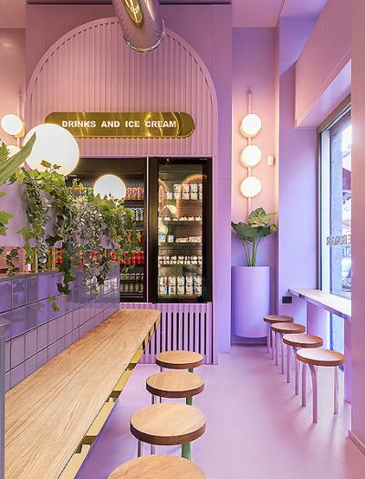 Restaurant in Mailand von Masquespacio