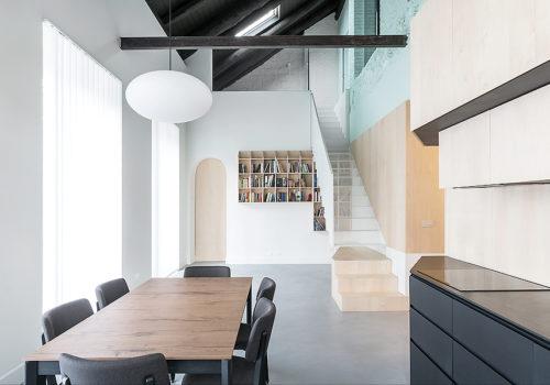 Umbau eines Wohnhauses in Cuneo 02
