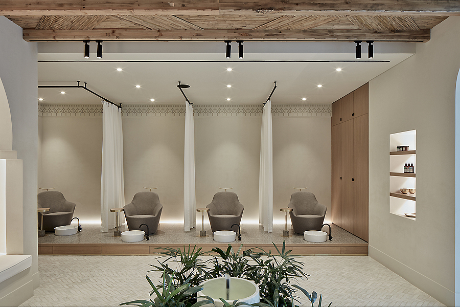 ZAAZ Wellness & Beauty Spa in Dubai von VSHD Design