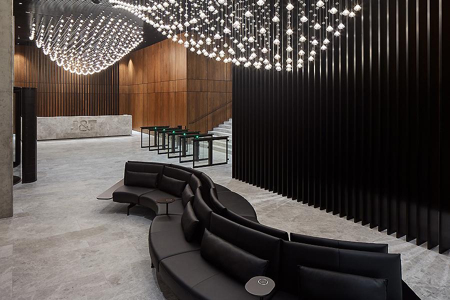 Hauptsitz von J&T Finance Group in Prag von CMC architects