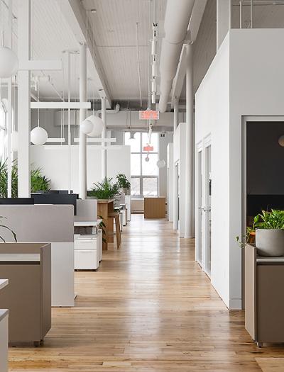 Büro in Montreal von L'Abri  mit Vives St-Laurent