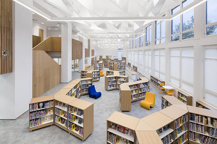 Bibliothek in Prag von Studio Perspektiv
