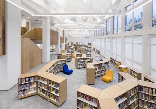 Bibliothek in Prag 02