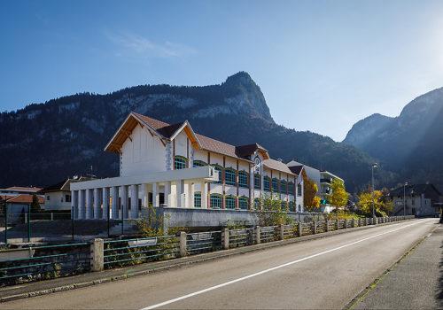 Alpex Cultural Centre in Scionzier  02