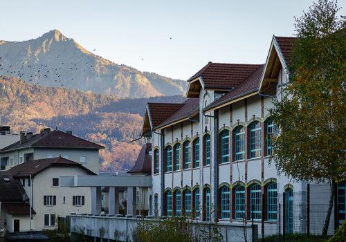 Alpex Cultural Centre in Scionzier  03