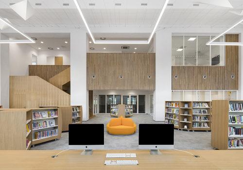 Bibliothek in Prag 04