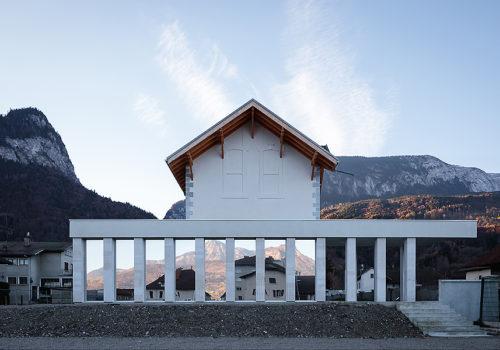 Alpex Cultural Centre in Scionzier 04