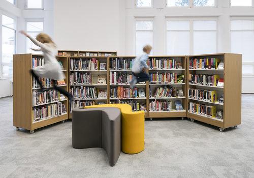 Bibliothek in Prag 06