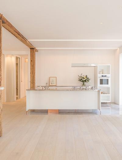 Umbau eines Apartments in San Sebastián von Amaia Arana Arkitektura