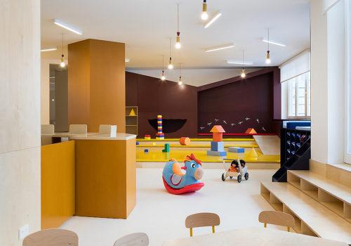Kindertagesstätte in Prag 09