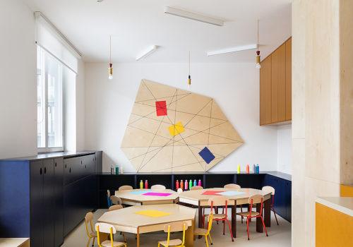 Kindertagesstätte in Prag 10