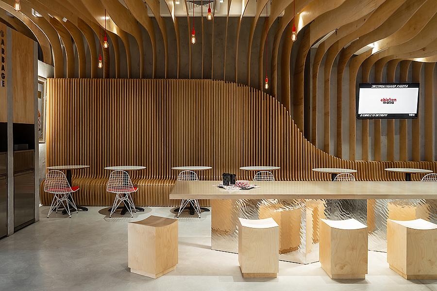 Restaurant in Moskau von Gretaproject