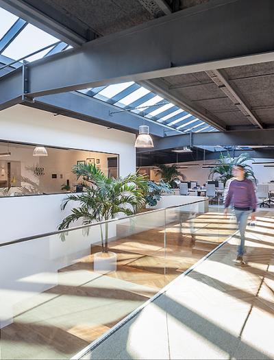 DSL Headquarters in Steinsel von Metaform architects